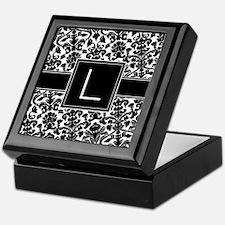 Monogram Letter L Gifts Keepsake Box