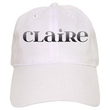 Claire Carved Metal Baseball Cap