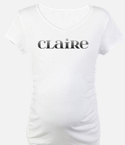 Claire Carved Metal Shirt