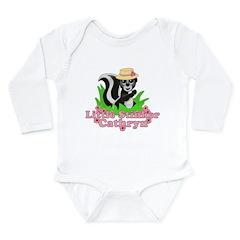 Little Stinker Cathryn Long Sleeve Infant Bodysuit