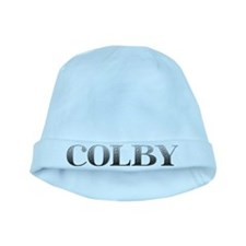 Colby Carved Metal baby hat