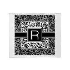 Monogram Letter R Gifts Throw Blanket