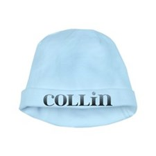 Collin Carved Metal baby hat