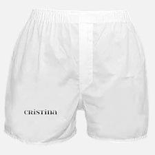 Cristina Carved Metal Boxer Shorts