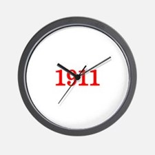 1911 Wall Clock