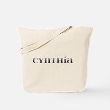 Cynthia Carved Metal Tote Bag