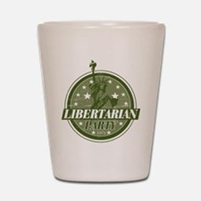 Libertarian Party Shot Glass