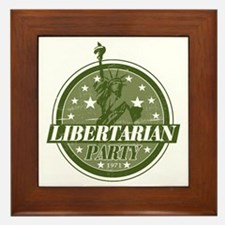 Libertarian Party Framed Tile