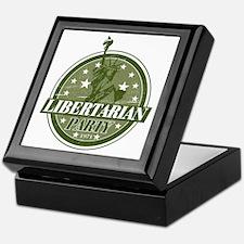 Libertarian Party Keepsake Box