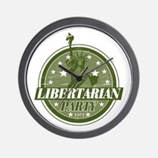 Libertarian Party Wall Clock