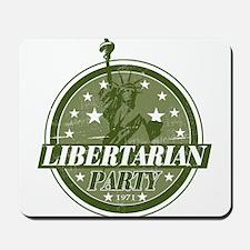 Libertarian Party Mousepad