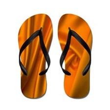 Flip Flops yellow fabric texture