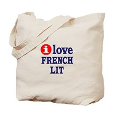 French Lit Tote Bag