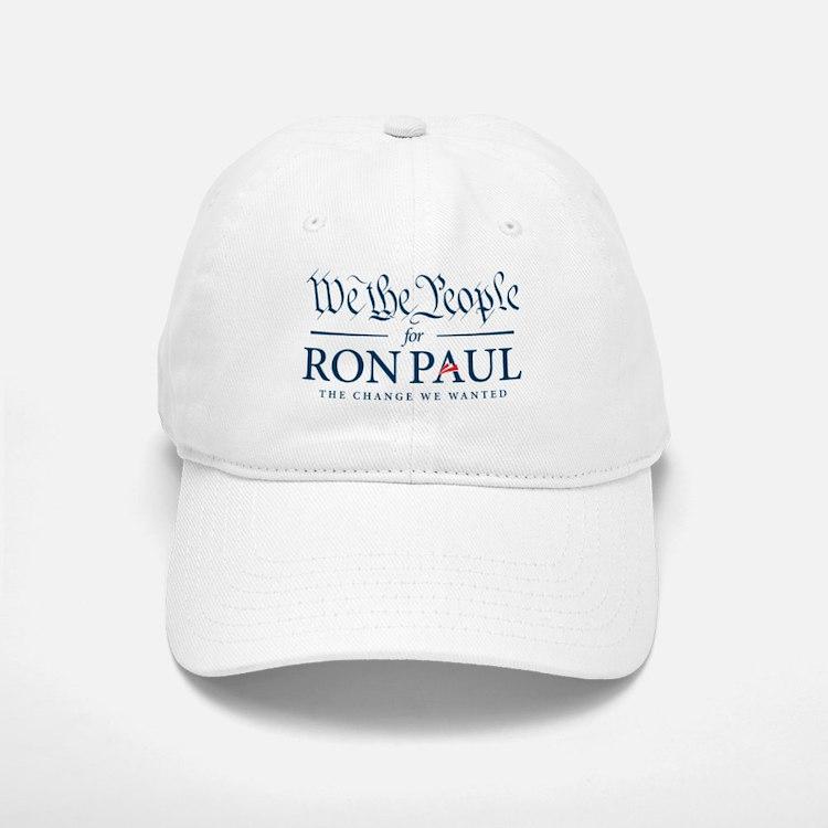 People for Ron Paul Baseball Baseball Cap