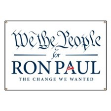 People for Ron Paul Banner