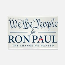 People for Ron Paul Rectangle Magnet (100 pack)