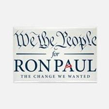 People for Ron Paul Rectangle Magnet