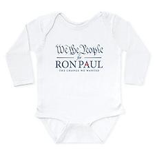 People for Ron Paul Long Sleeve Infant Bodysuit