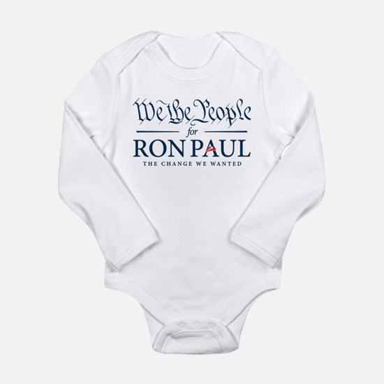 People for Ron Paul Long Sleeve Infant Bodysuit