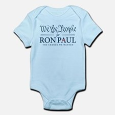 People for Ron Paul Infant Bodysuit