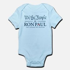 People for Ron Paul Onesie