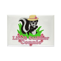 Little Stinker Connie Rectangle Magnet (10 pack)
