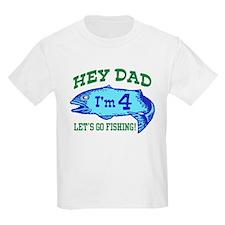 Cute 4th Birthday T-Shirt
