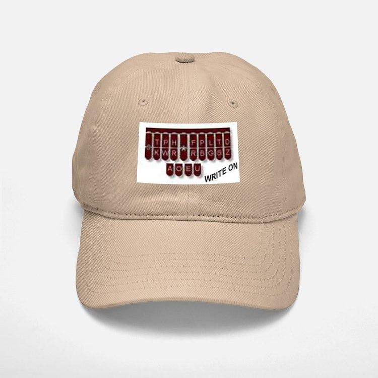 Write On! Baseball Baseball Cap