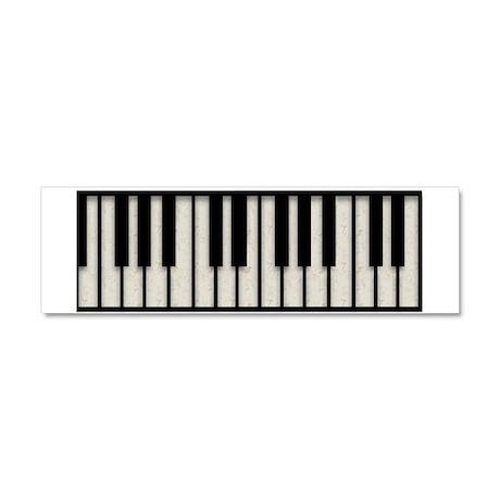 Piano Car Magnet 01 (10 x 3)