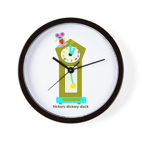 Hickory Dickory Dock Wall Clock