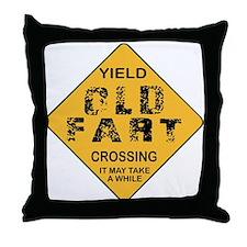 Old Fart Throw Pillow
