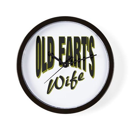 Ols Fart's Wife Wall Clock