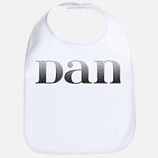 Dan Carved Metal Bib