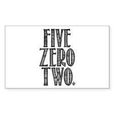 Five Zero Two Decal
