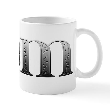 Dom Carved Metal Mug