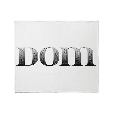Dom Carved Metal Throw Blanket