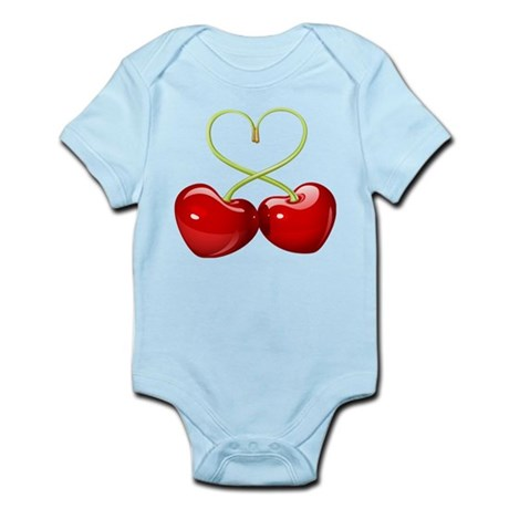 cherry love Infant Bodysuit