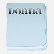 Donna Carved Metal baby blanket