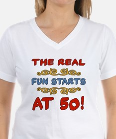 Real Fun 50th Birthday Shirt