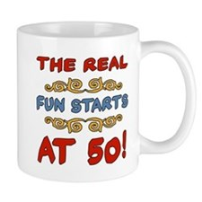 Real Fun 50th Birthday Mug