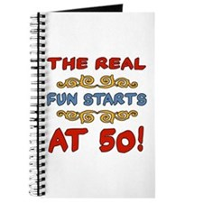Real Fun 50th Birthday Journal