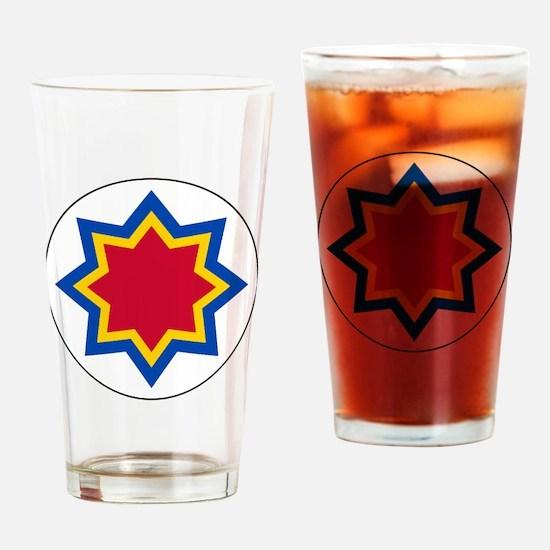 Moldova Roundel Drinking Glass