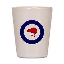 New Zealand Roundel Shot Glass