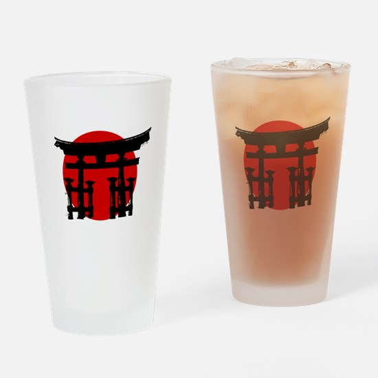 Japan Shinto Drinking Glass