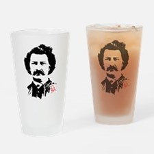 Louis Riel Drinking Glass