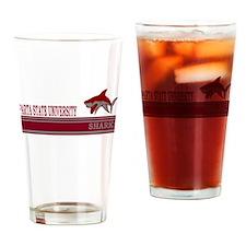Sparta Sharks Drinking Glass