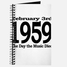 1959 - The Day the Music Died Journal