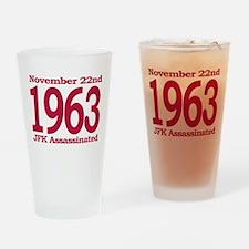 1963 - JFK Assassination Drinking Glass
