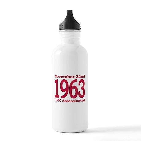 1963 - JFK Assassination Stainless Water Bottle 1.