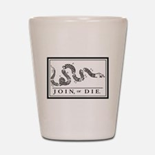 Join or Die Shot Glass